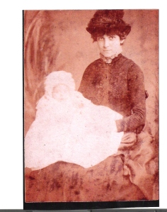 My great grandmother in 1903