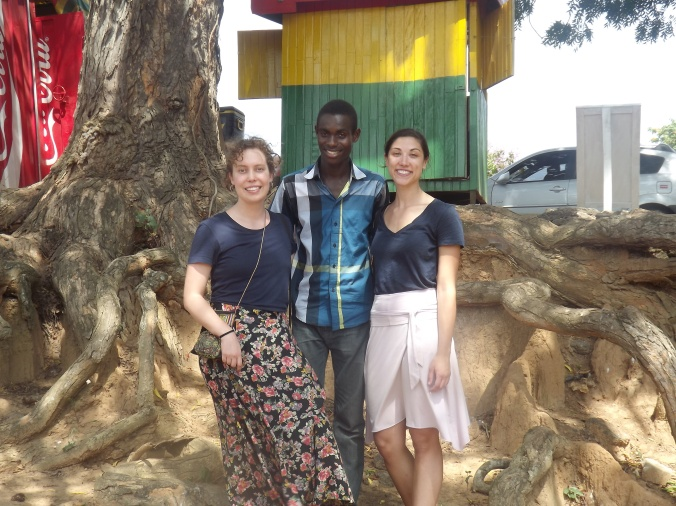 Myself, Alex and Nana in Takoradi after the All Girls Summit