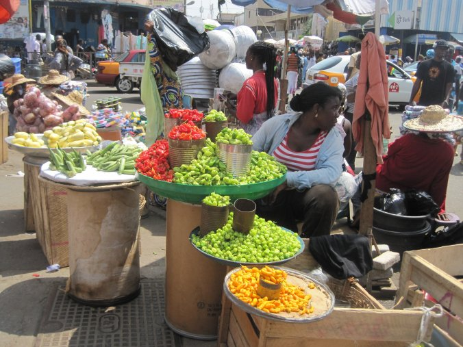 Market in Accra