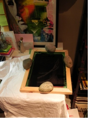 My neolithic printing process