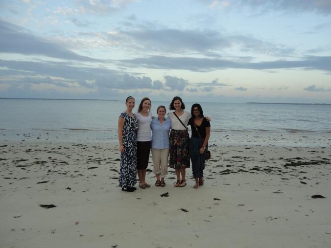 My team and I in the beautiful Zanzibar paradise.