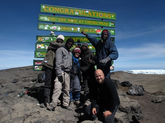 Summit Crew - Ami, Samuel, Me, Robert and Eli