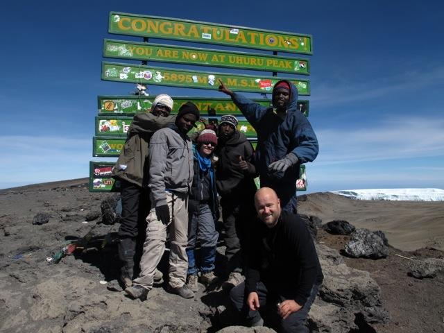Summit Crew - Ami, Samuel, Me, Robert and Eli