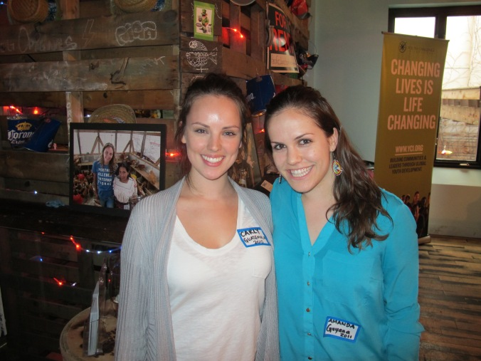 YCI Alumna, Carly Court and Volunteer Program Coordinator, Amanda Armstrong