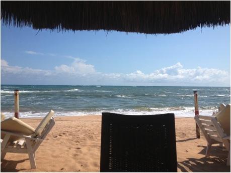 A beach in Takoradi
