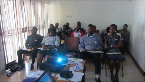 Participants attending workshop